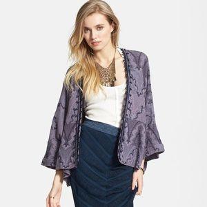 FREE PEOPLE Butterfly Sleeve Kimono Cardigan
